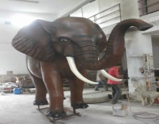 Büyük Afrika Fil Heykeli