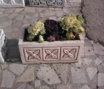 Beton Çiçeklikler