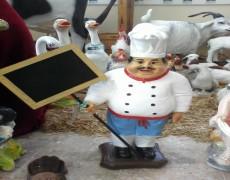 Bolulu Küçük Aşçı Mankeni