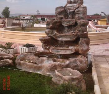 Duvar Taşlı Süs Havuzu