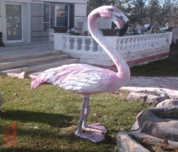 Flamingo Heykeli