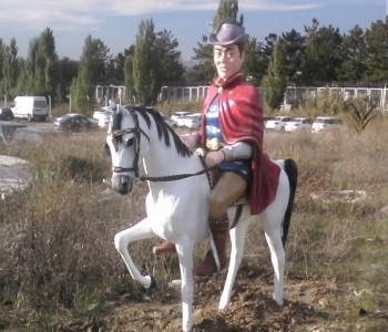 Prens Heykeli ve At Heykeli