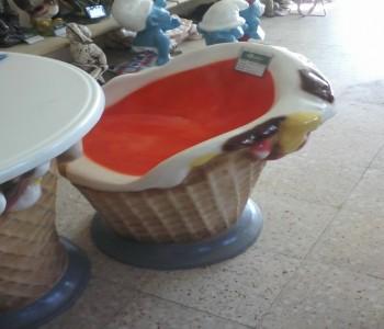 Dondurma Sandalye Maketi
