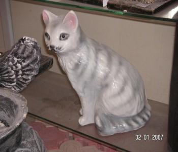 Kedi Heykeli