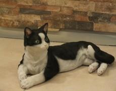 Mısır Yatan Kedi Heykeli