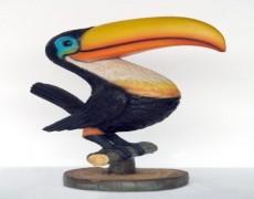 Taucan Papağan Heykeli