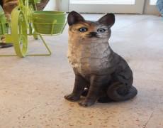 Tekir Kedi Heykeli