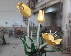 Çiğdem Çiçek Maketi