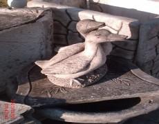 İkili Ördek Heykeli