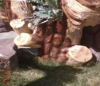 Ağaç Kütük Maketi