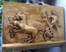 Antik Roma Savaşçıları Rölyef