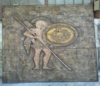 Antik Savaş Tanrıçası Rölyef