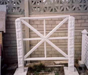 Beton Balkon Çit
