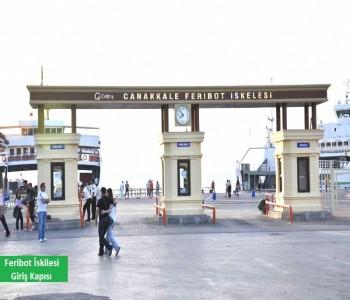Feribot İskelesi Giriş Kapısı