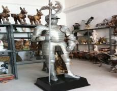 Dekoratif Şövalye Heykeli