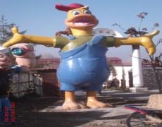 Büyük Donald Duck Heykeli