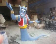 Aladdin Cin Heykeli
