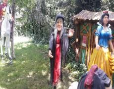 Dekoratif Cadı Heykeli
