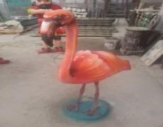 Flamingo Kuşu Heykeli