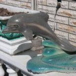 Dekoratif Yunus Balık Maketleri
